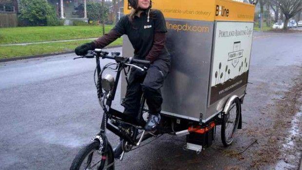 cargo bike trasporto merci