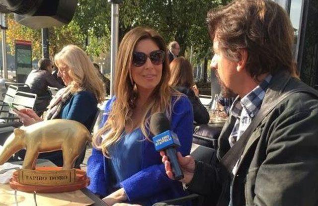 Striscia la Notizia Tapiro d'Oro Belen Rodriguez Selvaggia Lucarelli