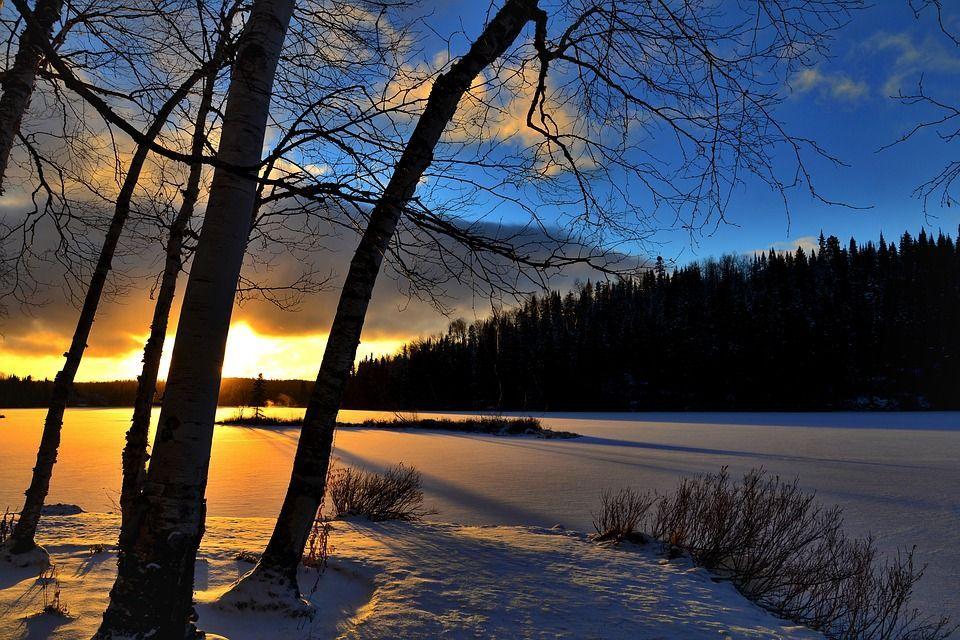 tramonto inverno