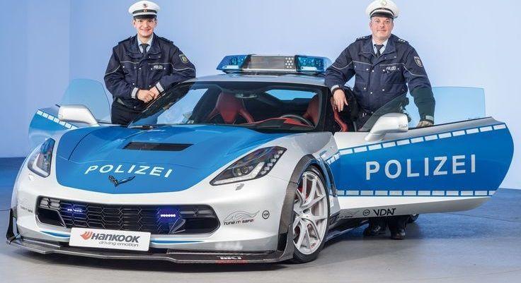Chevrolet Corvette Polizia (2)
