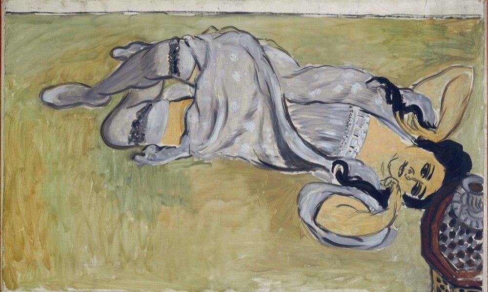 Matisse Henri, Lorette a la tasse de cafe