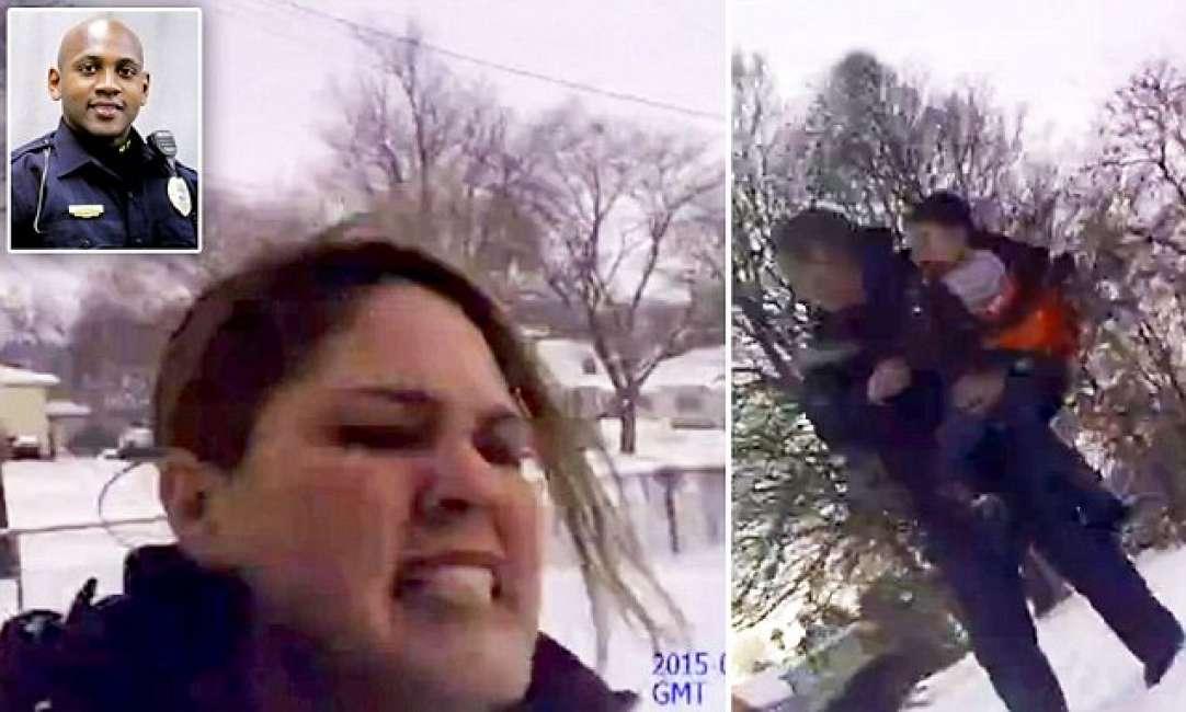 Poliziotto spara a donna per errore