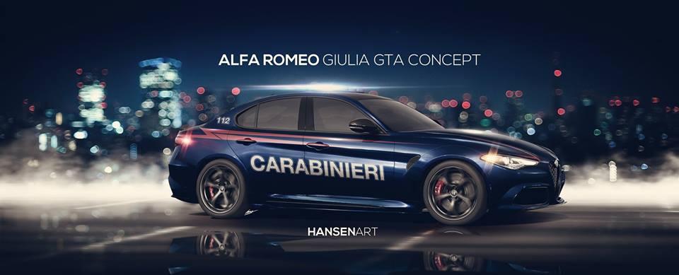 Alfa Romeo per i Carabinieri