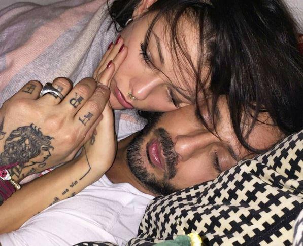 Fabrizio Corona e Silvia Provvedi Instagram