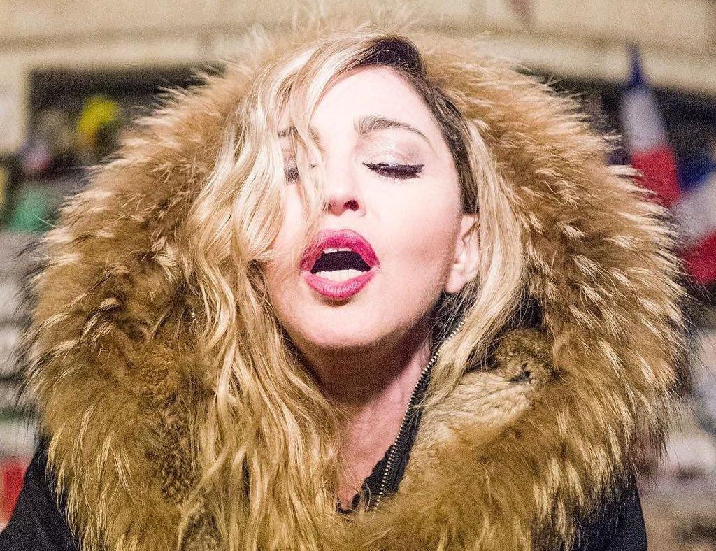 Madonna Parigi concerto