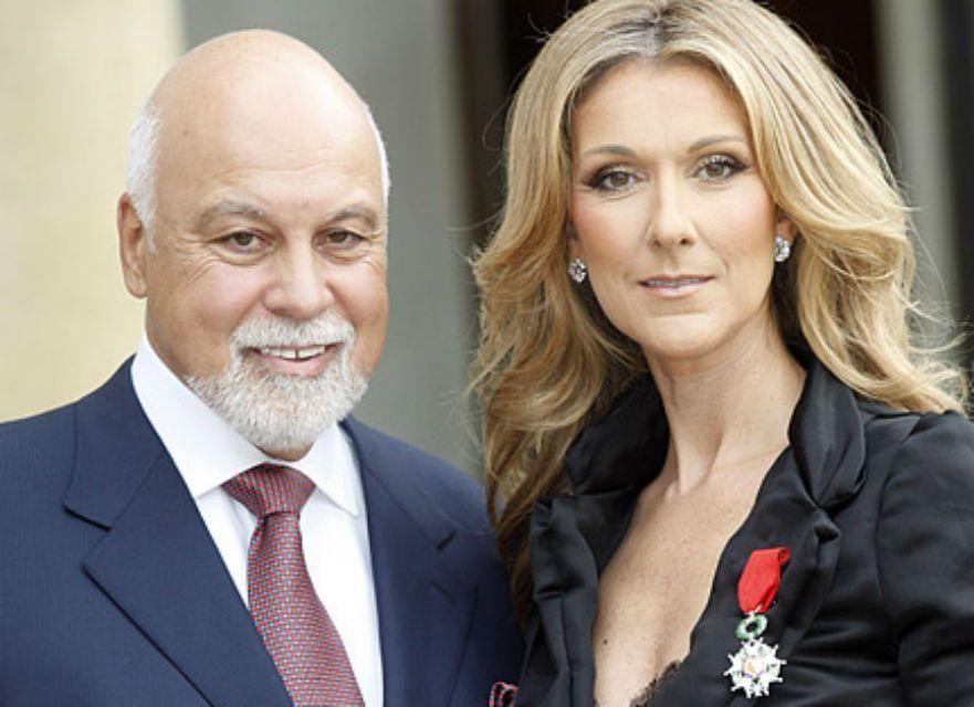 Celin Dion e il marito Rene