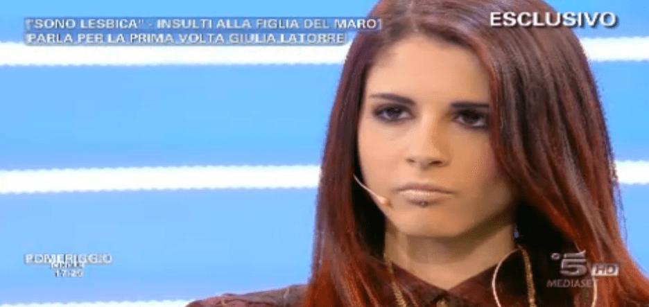Giulia Latorre a Pomeriggio 5 dopo il coming out: 'Sono una persona normalissima'