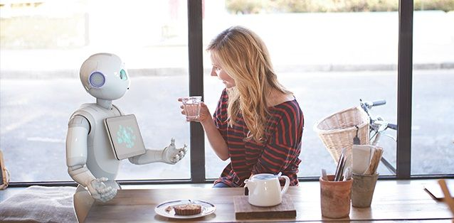 Robot negozio