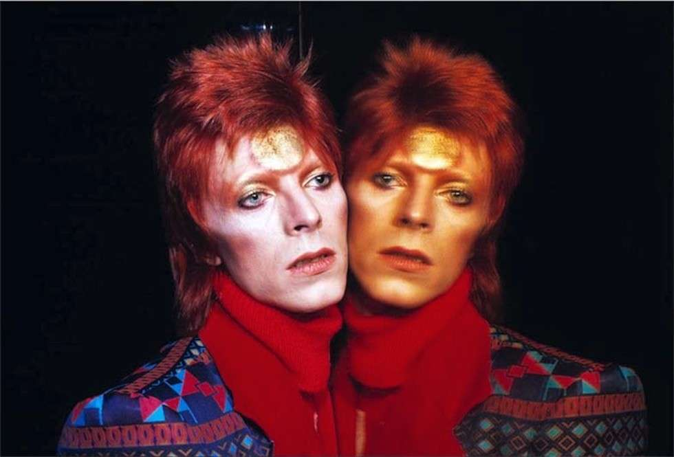 David Bowie licona rock inglese