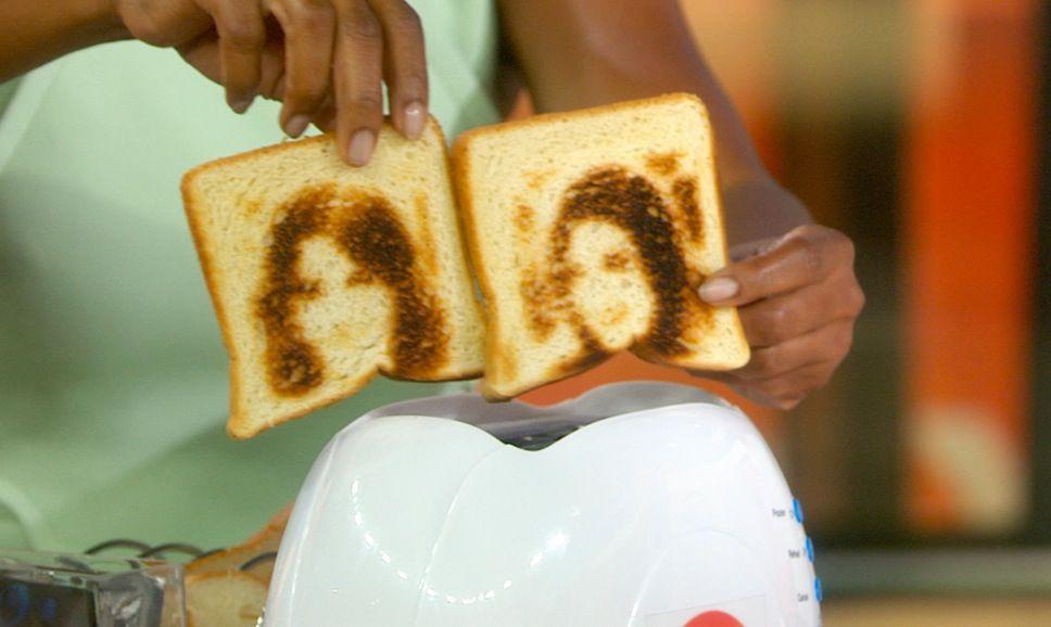 selfie sul toast