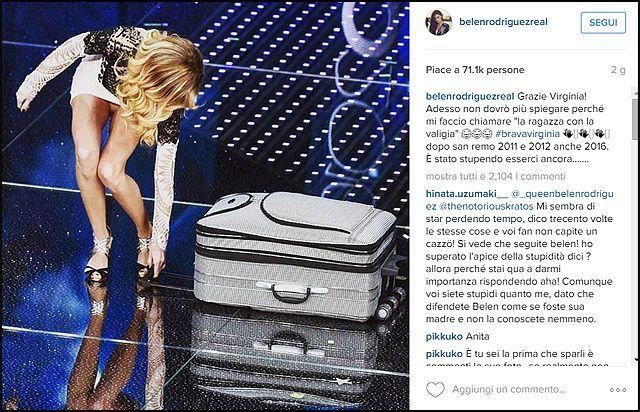 Belén Rodriguez: 'Virginia Raffaele? Bella come me, ma non sono così stupida'