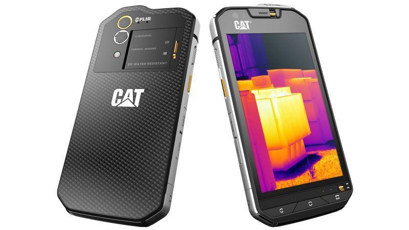 Cat S60 design
