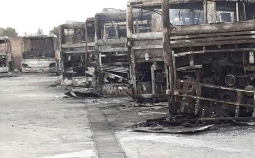 La 'ndrangheta brucia gli scuolabus