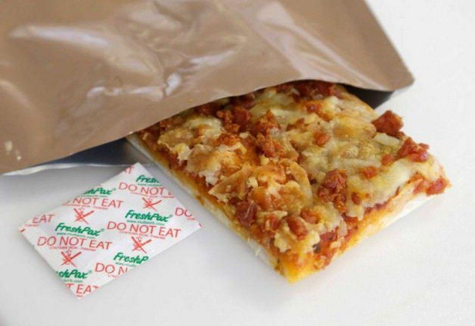 Pizza militare che dura fino a 3 anni
