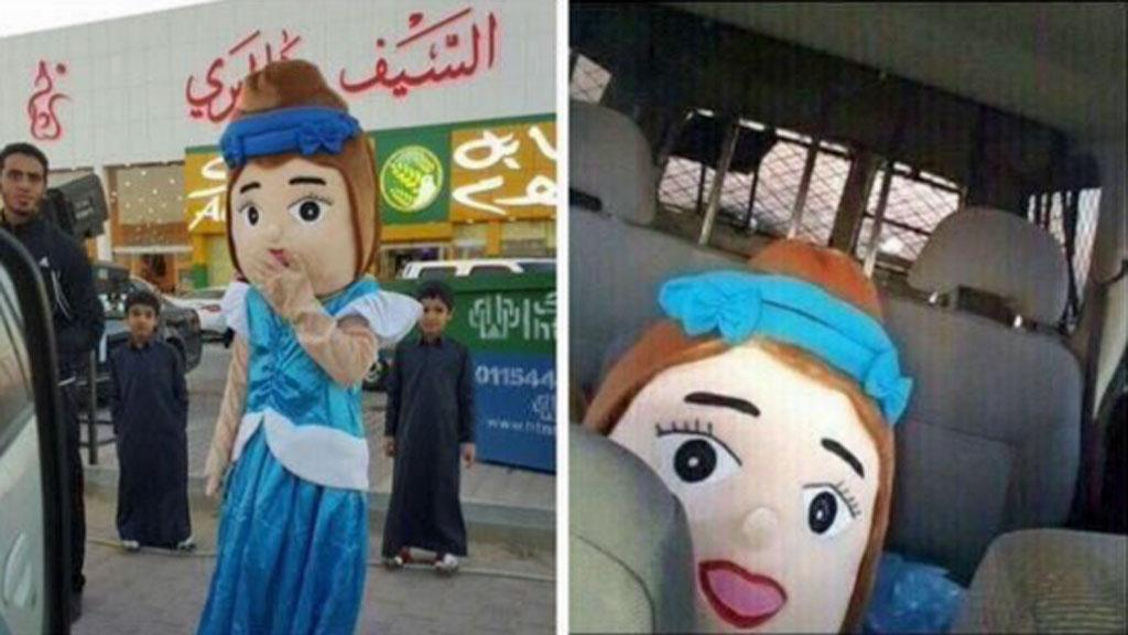 Riyad bambola della principessa arrestata in Arabia Saudita