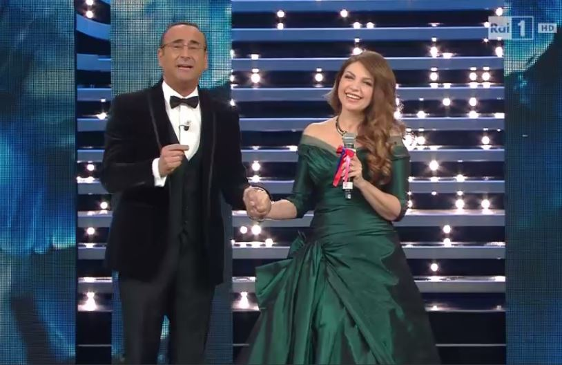 Cristina D'Avena Sanremo 2016