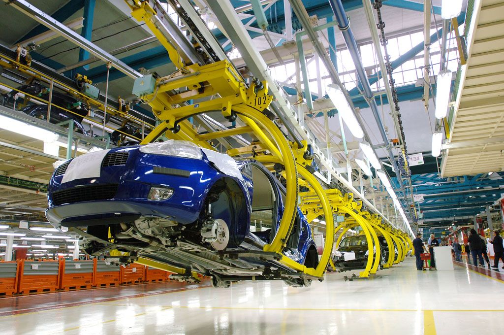 produzione auto Italia 2015