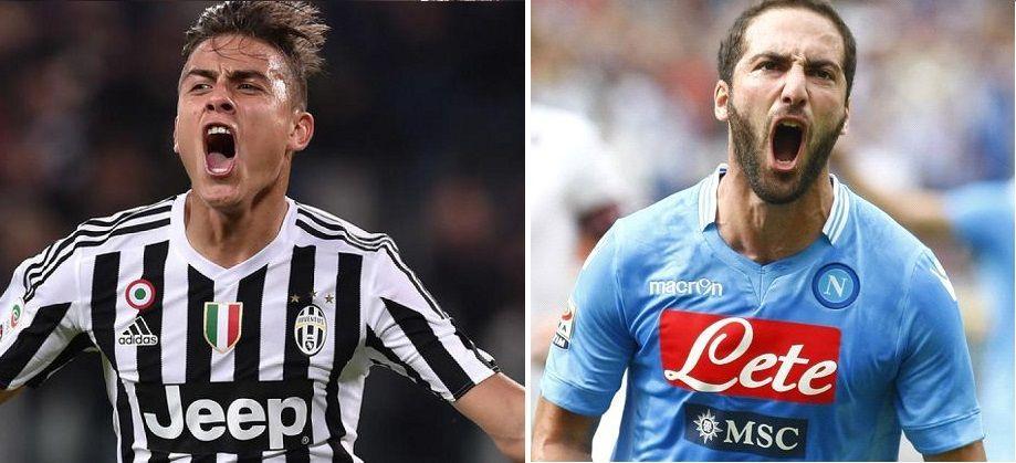 Juventus Napoli, la sfida scudetto