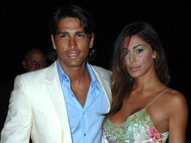 Belen Rodriguez Marco Borriello insieme