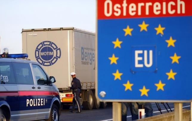 Controlli alla frontiera austriaca