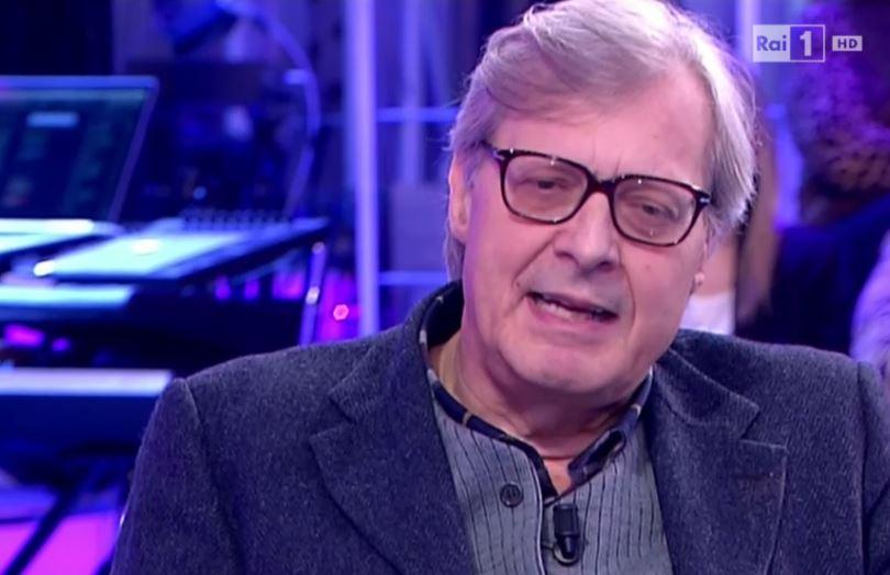 Vittorio Sgarbi Paola Perego Domenica In