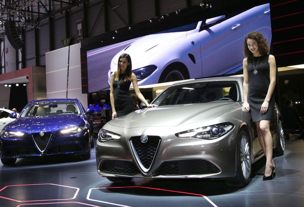 Alfa Romeo Giulia salone di Ginevra 2016