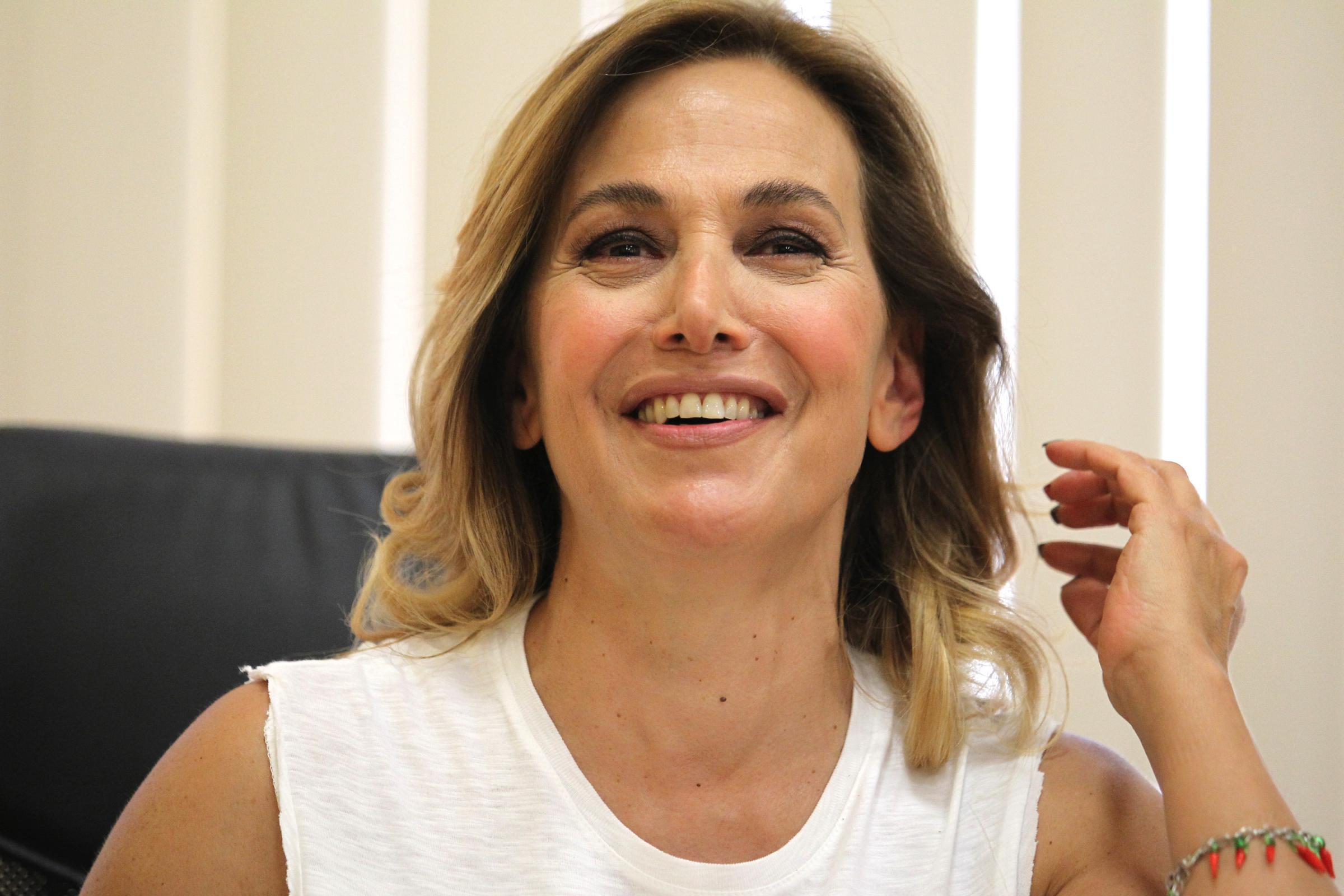 Conferenza stampa di Barbara D'Urso per la presentazione della sua nuova rivista mensile B