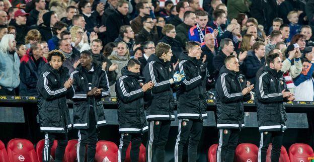 Cruyff: un (14esimo) minuto tutto di applausi durante Feyenoord vs Sparta