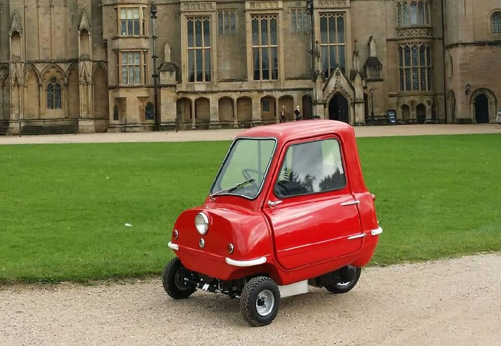 Auto più piccola del mondo: cifra folle ad un'asta per la Peel P50