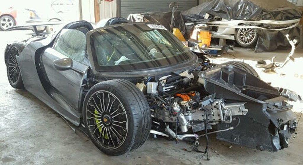 Porsche 918 Spyder incidente