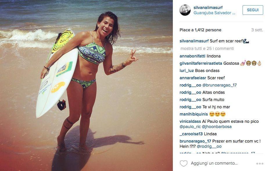 Silvana Lima su Instagram
