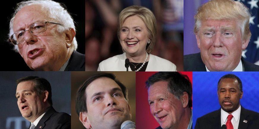 Candidati alle Primarie USA 2016