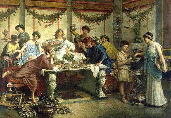 cosa mangiavano gli antichi romani