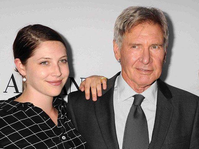 Harrison Ford figlia malata