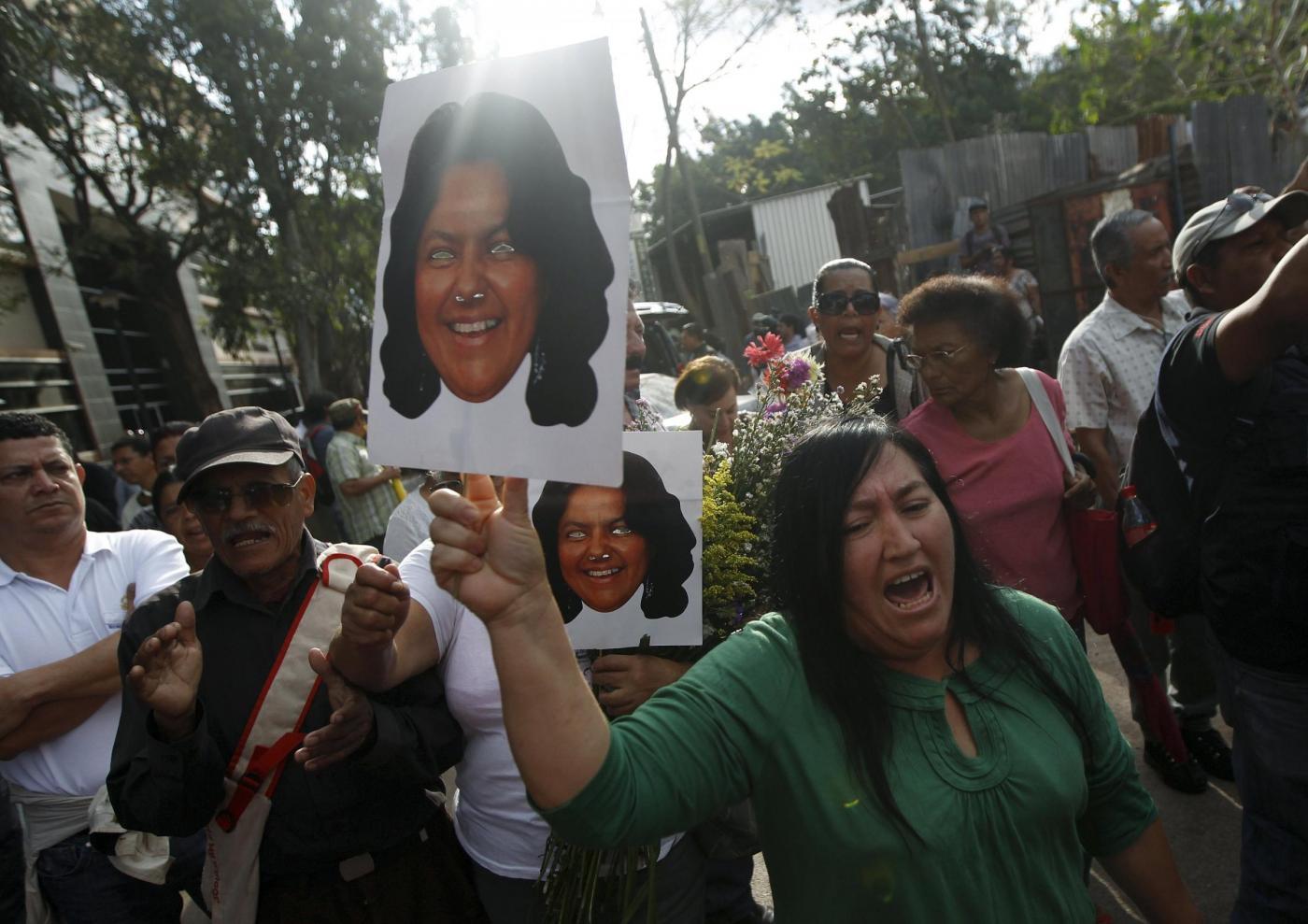 proteste morte Berta Caceres