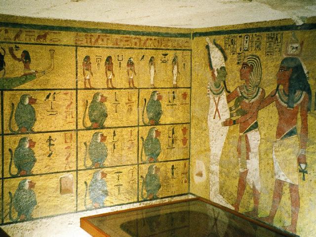 tomba tutankhamon