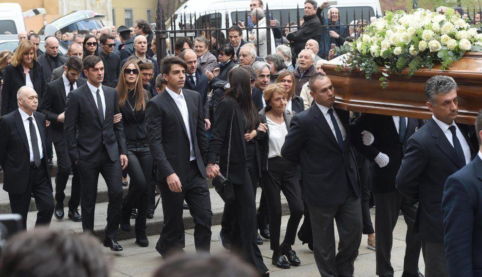 Cesare Maldini Funerale S.Ambrogio