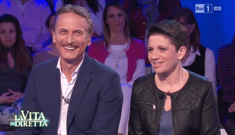 Cesare Bocci e la compagna Daniela Spada in tv: 'Perché l'ictus dopo il parto è un Pesce d'aprile'