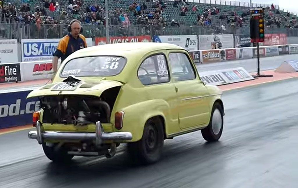 Fiat 600 dragster