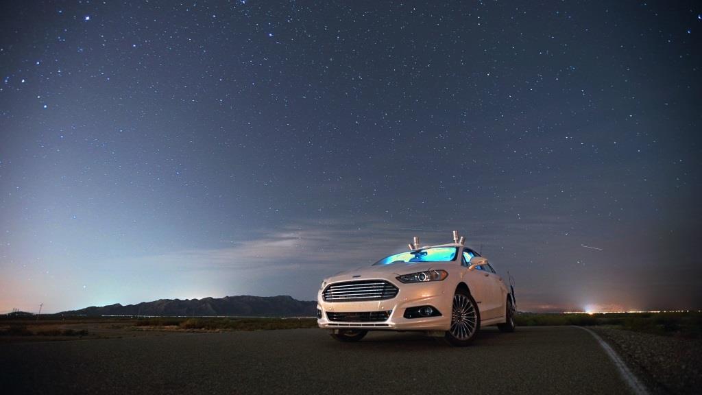 Ford guida autonoma Lidar