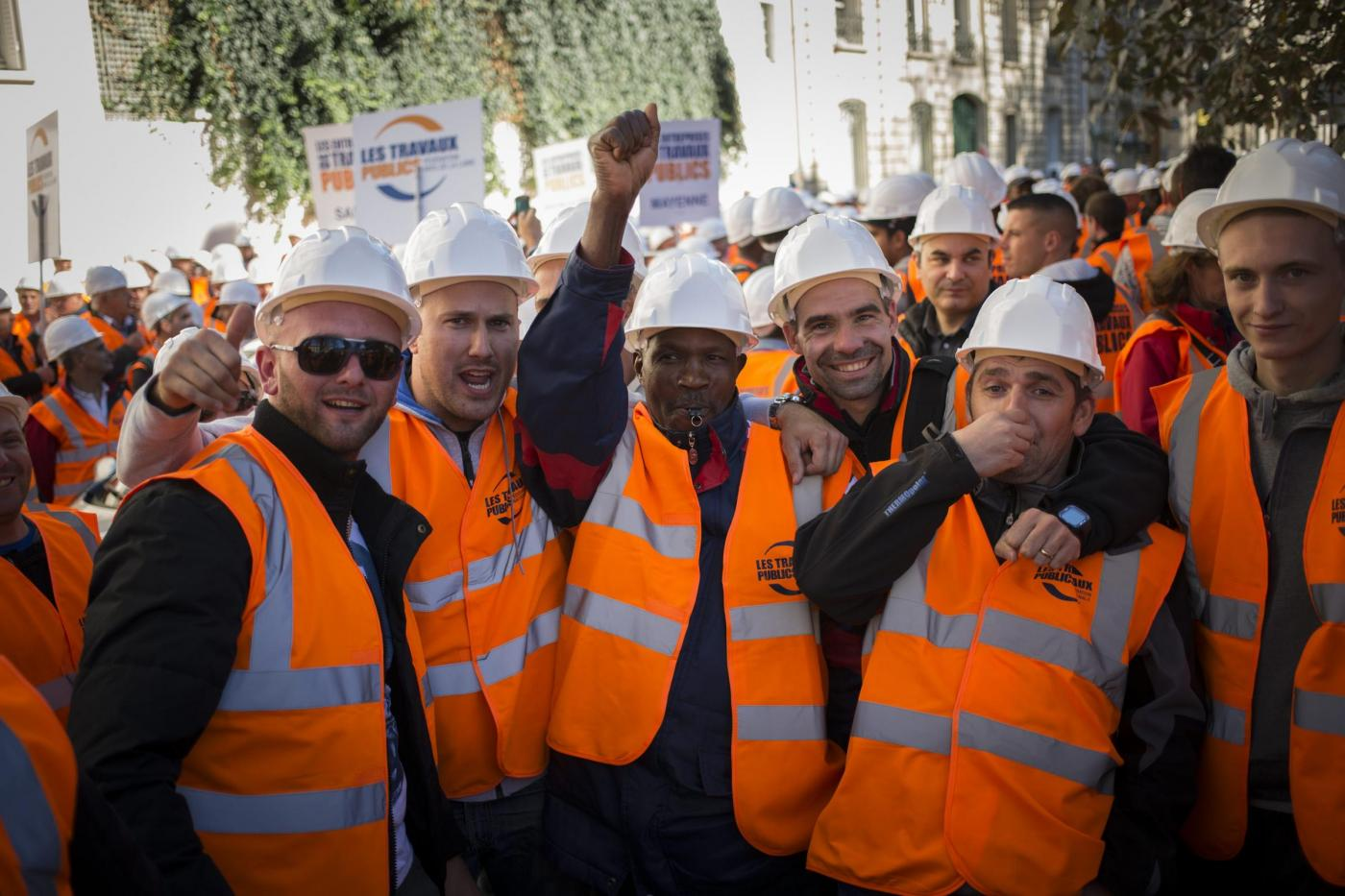 Parigi manifestazione dei lavoratori