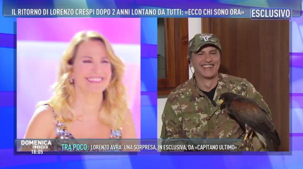 Lorenzo Crespi è guarito: l'attore annuncia il suo ritorno in tv