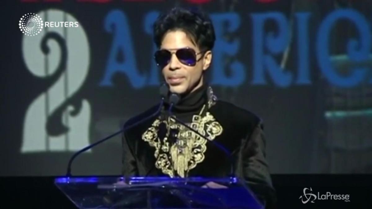 E8217 morto Prince il genio del pop aveva 57 anni