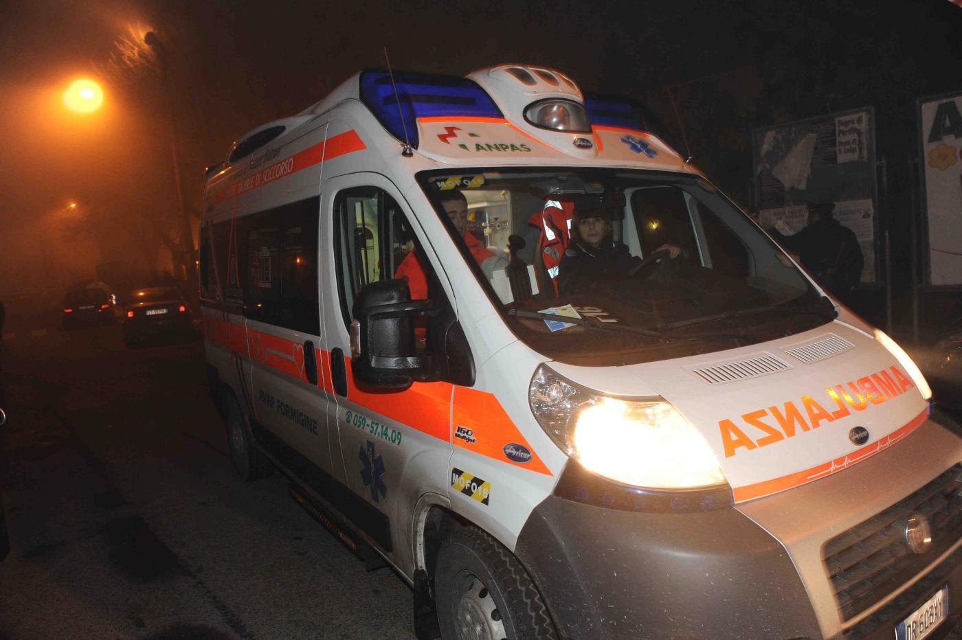 rapina con sparatoria a Portile di Modena