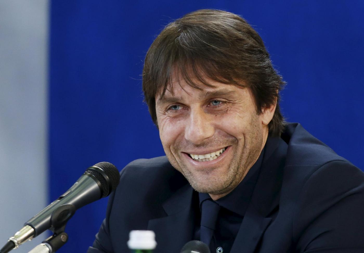 Nazionale italiana a Udine, conferenza stampa di Conte e Buffon