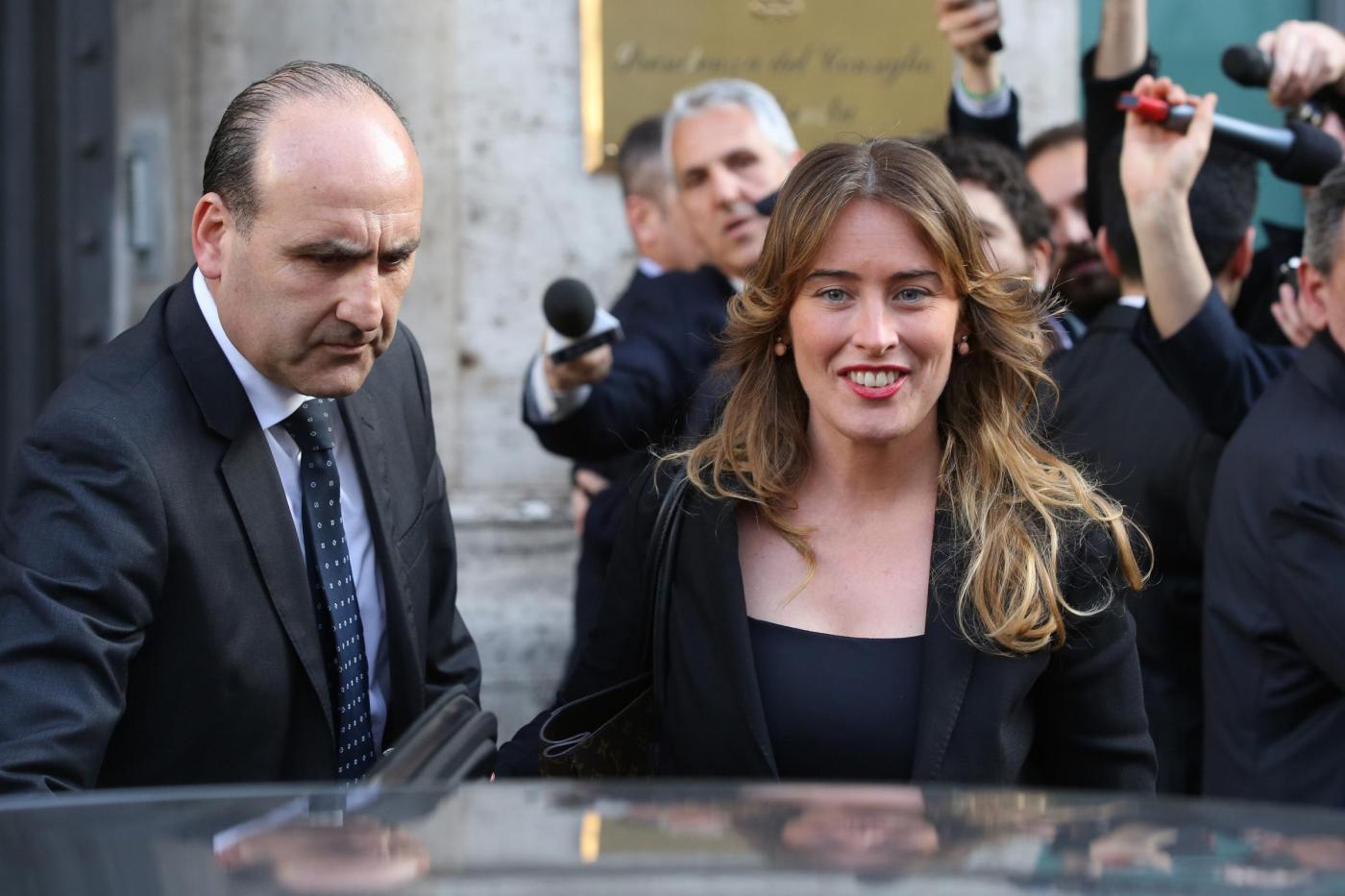 Incontro dei magistrati con Maria Elena Boschi.