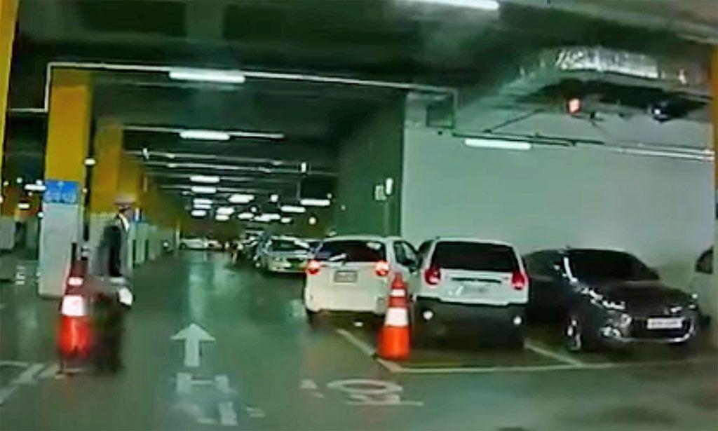 parcheggio impedita