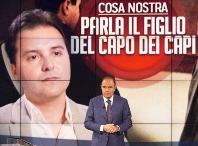 Porta a Porta figlio di Totò Riina Bruno Vespa
