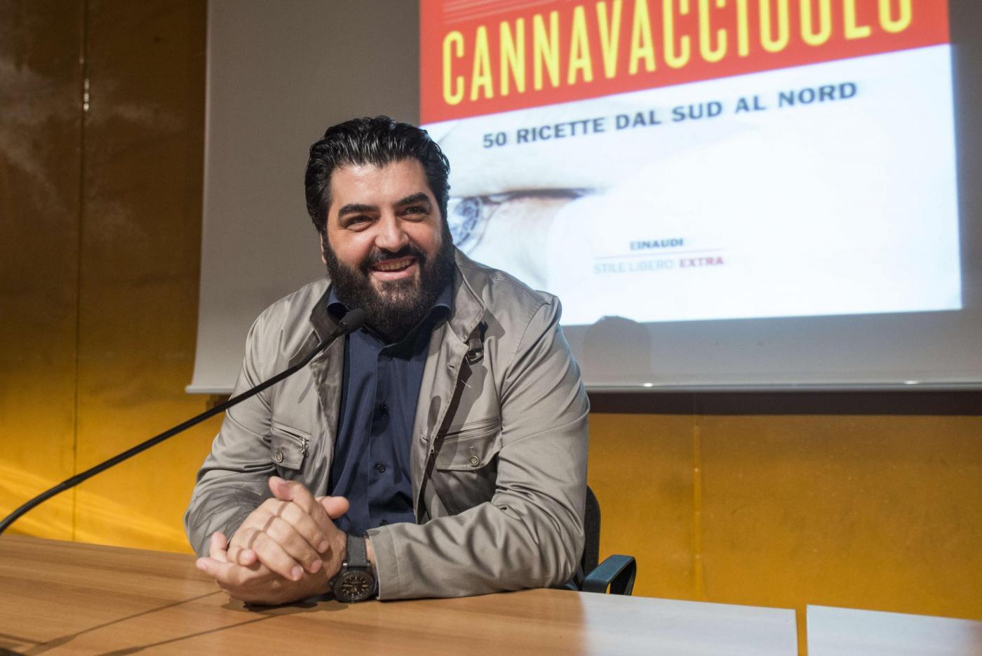 Antonino Cannavacciuolo al 29° Salone Internazionale del Libro di Torino