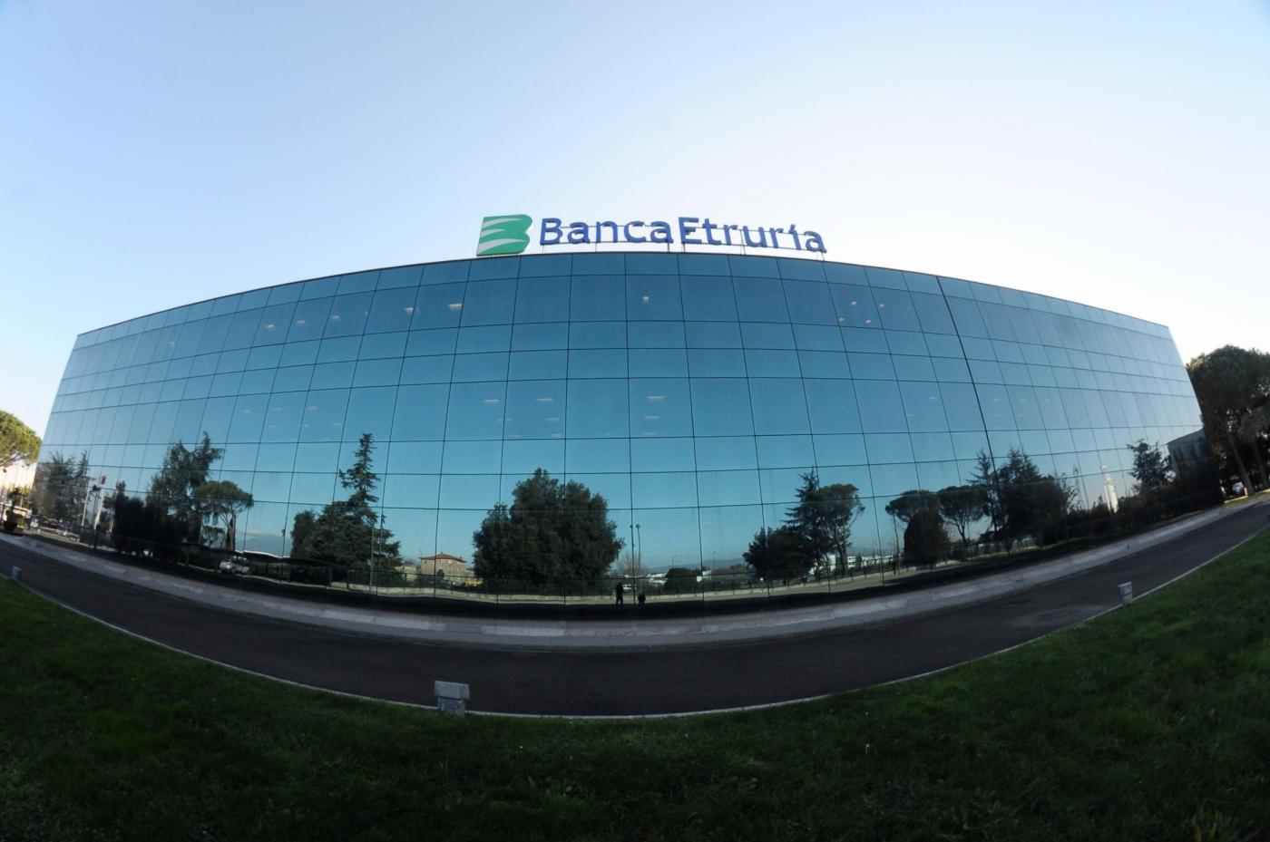 Arezzo, Nicastro e Bertola incontrano la stampa nella sede della Nuova Banca Etruria